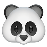 🐼 Panda, Emoji by Apple