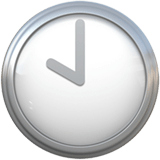 🕙 Ten O'clock, Emoji by Apple