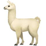 🦙 Llama, Emoji by Apple