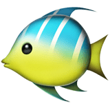 🐠 Tropical Fish, Emoji by Apple