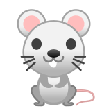 🐁 Mouse, Emoji by Google