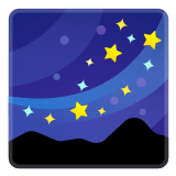 🌌 Milky Way, Emoji by Google