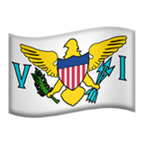 🇻🇮 Flag: U.s. Virgin Islands, Microsoft  Emoji