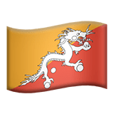 🇧🇹 Flag: Bhutan, Apple  Emoji