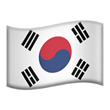 🇰🇷 Flag: South Korea, Apple  Emoji