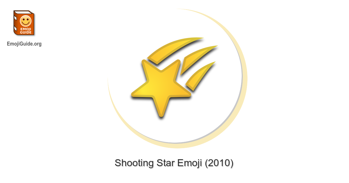 🌠 Shooting Star Emoji – Meaning and Pictures – EmojiGuide