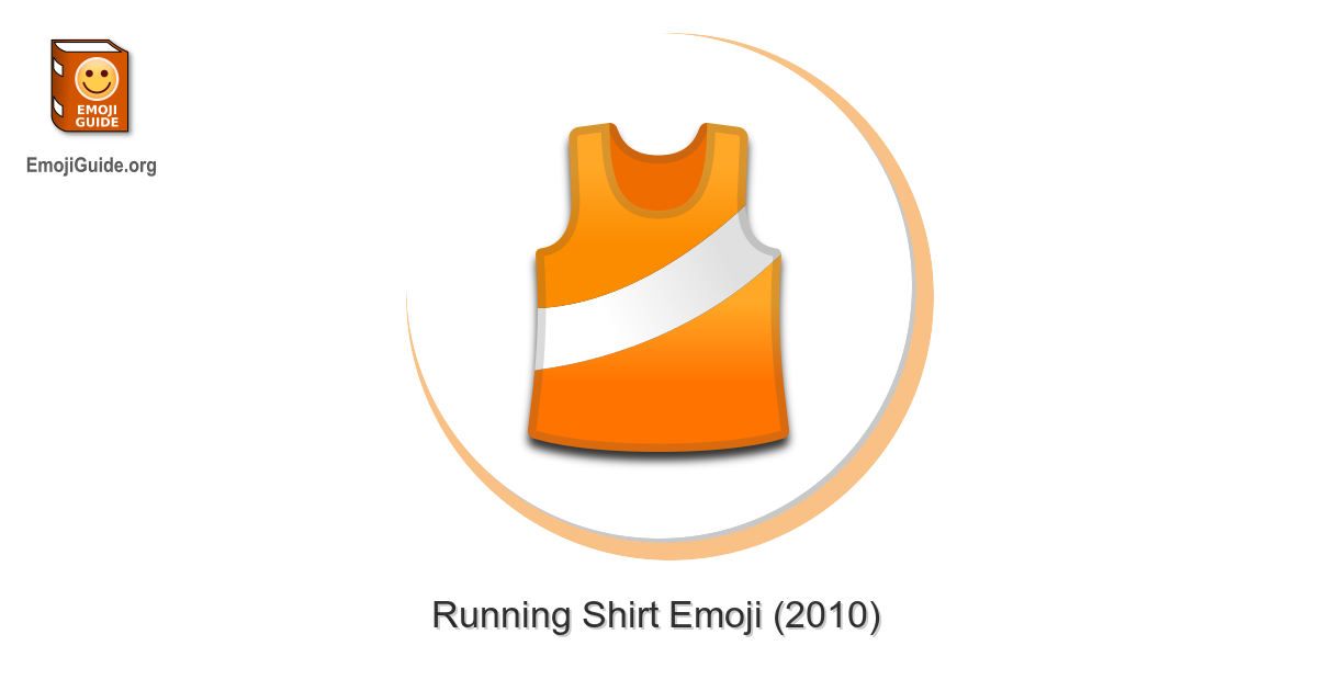 🎽 Running Shirt Emoji – Meaning and Pictures – EmojiGuide