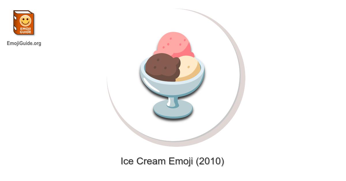 Ice Cream Emoji