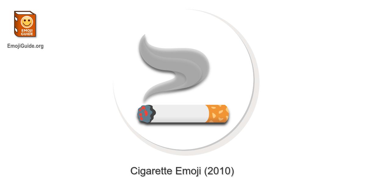 🚬 Cigarette Emoji