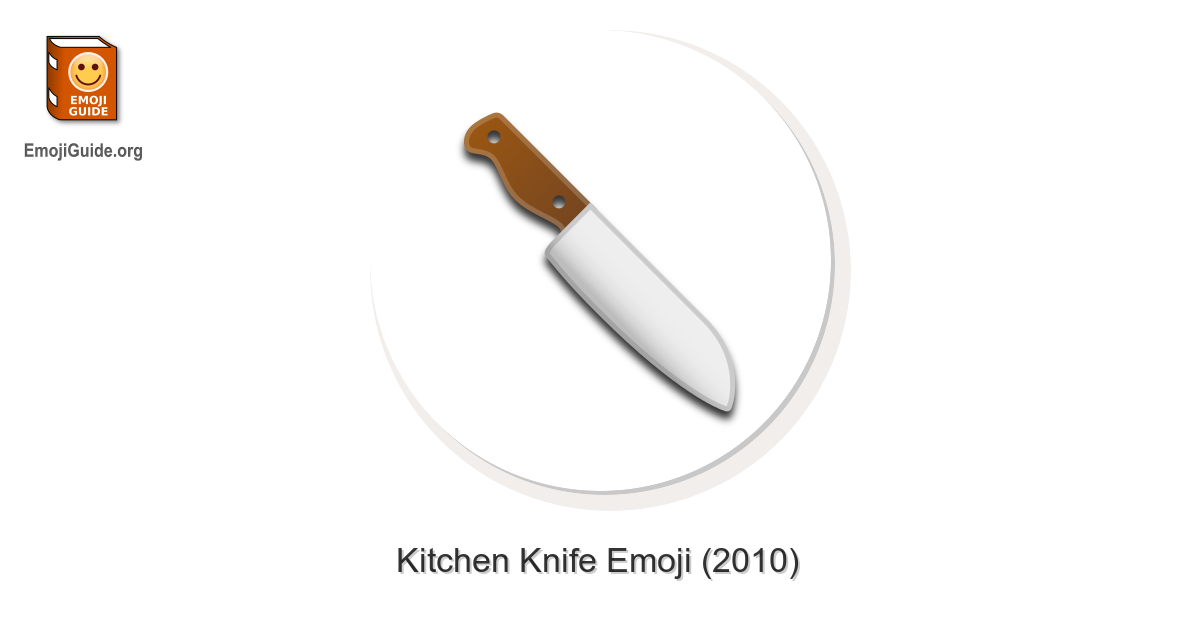 Kitchen Knife Emoji Meaning And Pictures Emojiguide