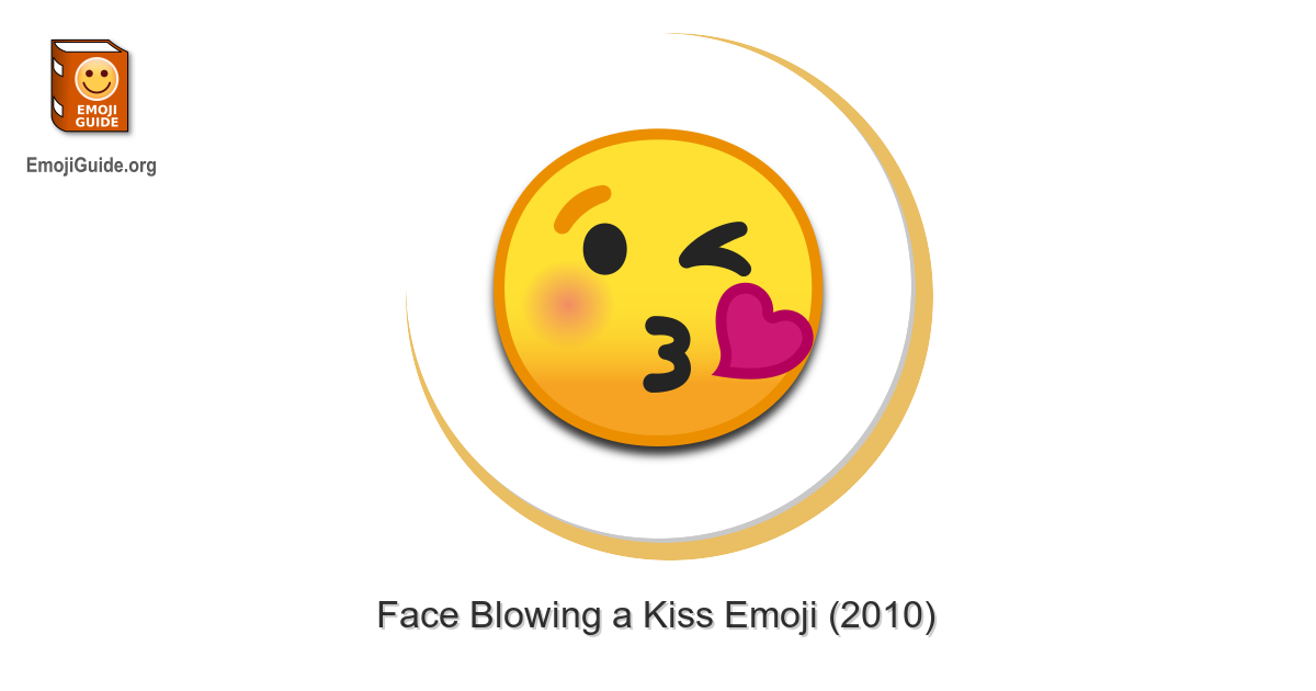 Smiley whatsapp meaning kuss 😙 Kissing